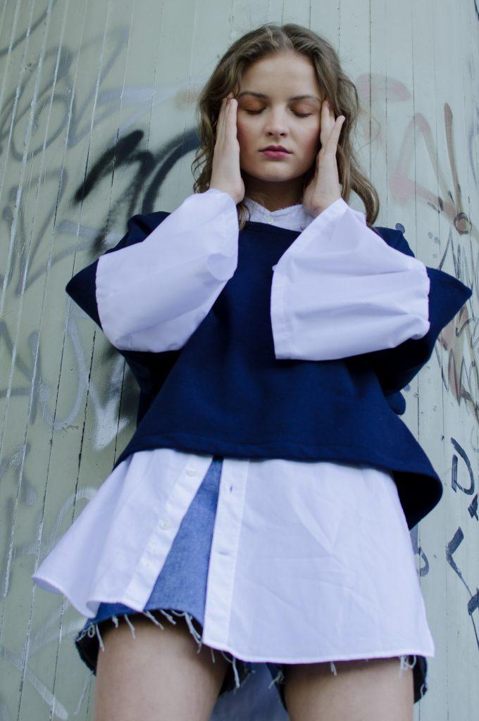 Foto: Katarína Hutyrová, Modelka: Paulína K. / Mix Model Management pre NOSENE