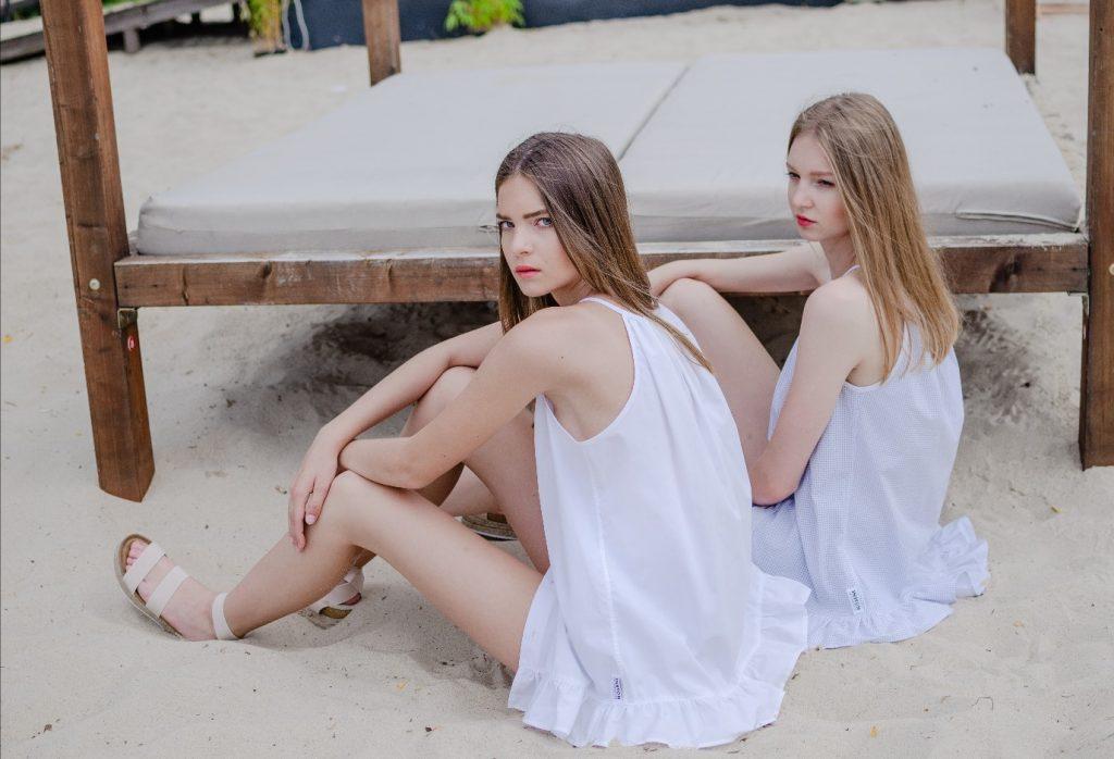 Foto: Katarína Hutyrová, Modelka: Louna B., Simona Z. / Mix Model Management pre NOSENE